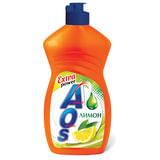 "Средство для мытья посуды 450 мл, AOS ""Лимон"", 1118-3"