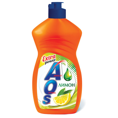 Средство для мытья посуды 450 мл, AOS