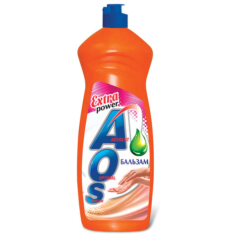 Средство для мытья посуды 900 мл, AOS