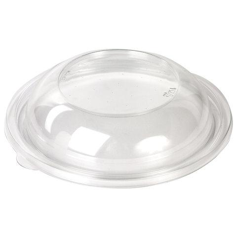 Крышки для одноразовых круглых контейнеров СпК-190 ДИ, комплект 75 шт., ПЭТ, контейнеры 605109, 605110