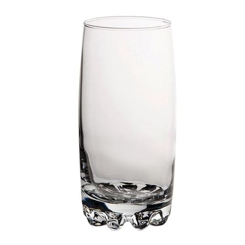 Набор стаканов, 6 шт., объем 375 мл, высокие, стекло,
