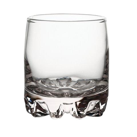 Набор стаканов, 6 шт., объем 200 мл, низкие, стекло,