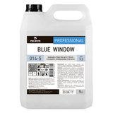 Средство для мытья стекол и зеркал 5 л, PRO-BRITE BLUE WINDOW, щелочное, низкопенное, концентрат, 014-5