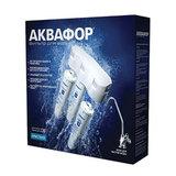 """Фильтр для воды АКВАФОР """"Кристалл Н"""", для холодной воды, 3 ступени, ресурс 6000 л, кран в комплекте, И5963"""