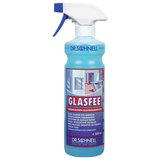 """Средство для мытья стекол и зеркал 500 мл, DR.SCHNELL """"GLASFEE"""", щелочное, содержит спирт, с распылителем, 143397"""