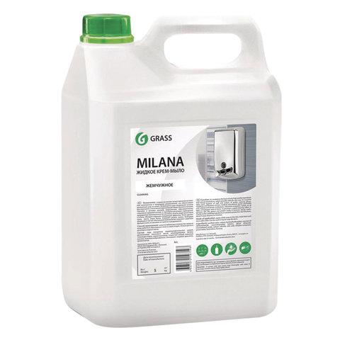 Мыло-крем жидкое 5 л GRASS MILANA
