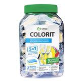"""Средство для мытья посуды в посудомоечных машинах 35 шт. GRASS COLORIT """"5 в 1"""", таблетки, 213000"""