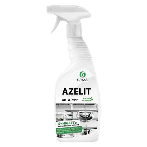 Средство для чистки плит, духовок, грилей от жира/нагара 600 мл GRASS AZELIT, щелочное, распылитель, 97537, 218600