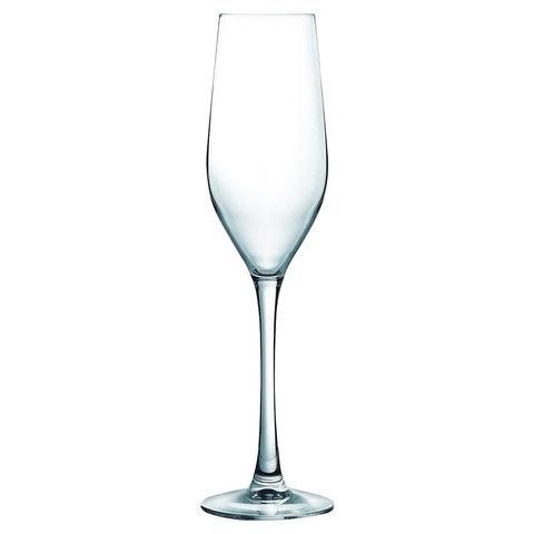 Набор фужеров для шампанского, 6 штук, 160 мл, стекло,