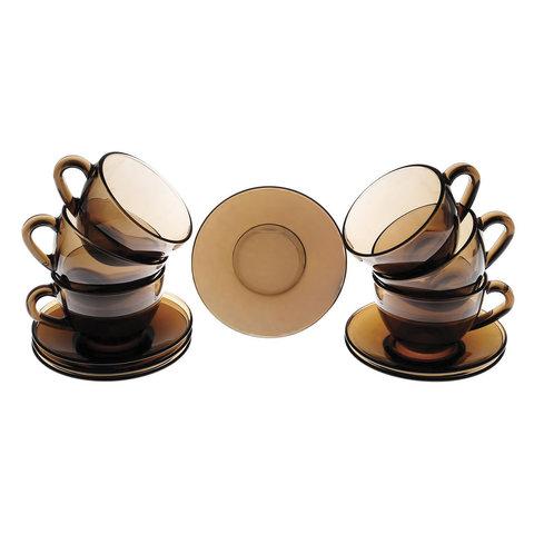 Набор чайный на 6 персон, 6 чашек объемом 220 мл и 6 блюдец,