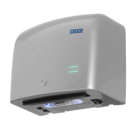 Сушилка для рук BXG-JET-5500C, 1250 Вт, пластик, хром