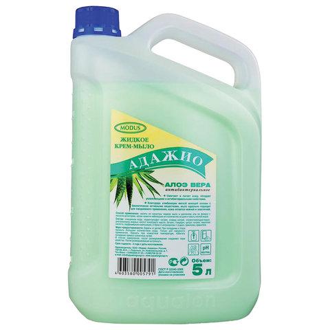 Мыло-крем жидкое 5 л АДАЖИО