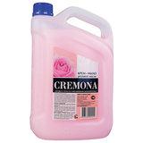 """Мыло-крем жидкое 5 л КРЕМОНА """"Розовое масло"""", ПРЕМИУМ, перламутровое, из натуральных компонентов, 102219"""