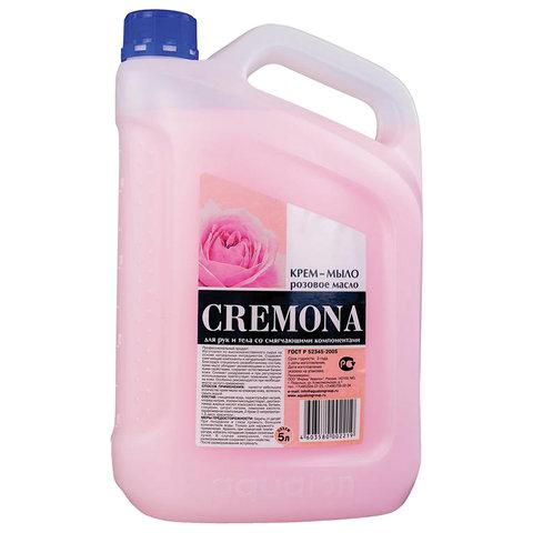 Мыло-крем жидкое 5 л КРЕМОНА
