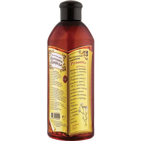 """Шампунь для всех типов волос 1 л МАТУШКА ПРИРОДА """"Ромашка"""", натуральный, укрепляющий, 102424"""