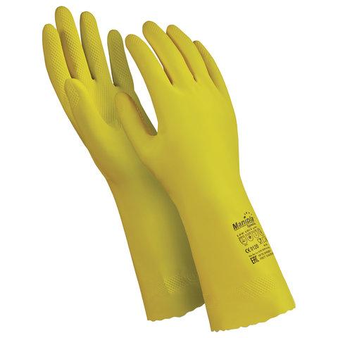 Перчатки латексные MANIPULA