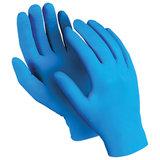 """Перчатки нитриловые MANIPULA """"Эксперт"""", неопудренные, КОМПЛЕКТ 50 пар, размер 9 (L), синие, DG-022"""
