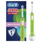 """Зубная щетка электрическая детская ORAL-B (Орал-би) """"Junior"""", 6+ лет, D16.513.1, 53019222"""