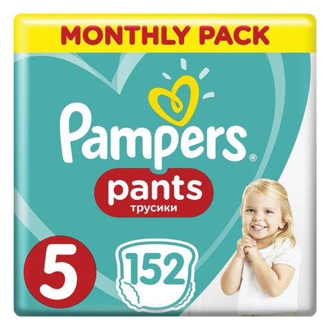 Подгузники-трусики 152 шт. PAMPERS (Памперс) Pants, размер 5 (12-17 кг), 1210764