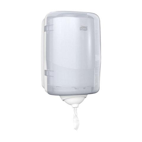 Диспенсер для полотенец с центральной вытяжкой МИНИ, Tork (Система М3) Reflex, белый, 473177