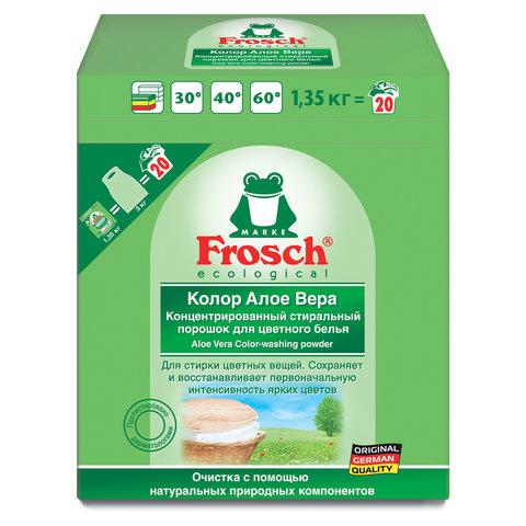 Стиральный порошок 1,35 кг FROSCH COLOR (Германия), концентрат, ЭКО, 1404569