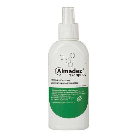 Антисептик для рук и поверхностей спиртосодержащий (63%) с распылителем 250мл АЛМАДЕЗ-ЭКСПРЕСС, дезинфицирующий, жидкость, АЭ-520
