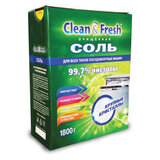 Соль от накипи для посудомоечных машин 1,8 кг CLEAN&FRESH, УТ000000347