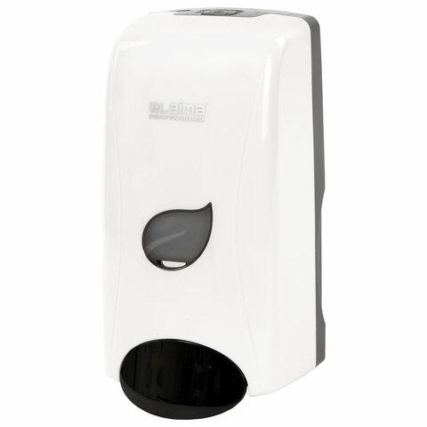 Диспенсер для жидкого мыла LAIMA PROFESSIONAL ECO, НАЛИВНОЙ, 1 л, белый, ABS-пластик, 606551