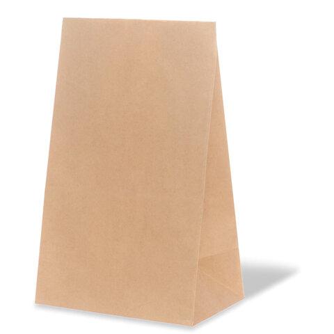 Крафт пакет бумажный 22х12х29 см, плотность 70 г/м2, 606865
