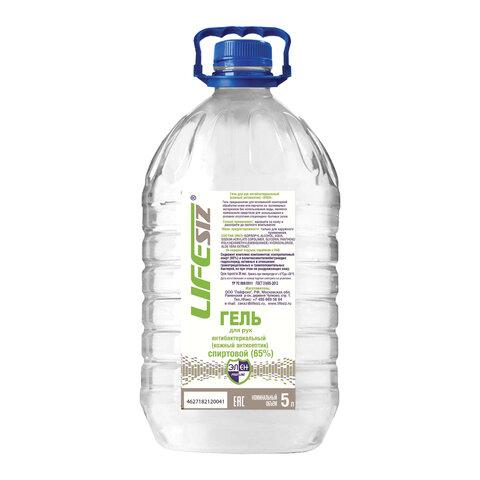 Антисептик-гель для рук спиртосодержащий (65%) 5л ЭЛЕН