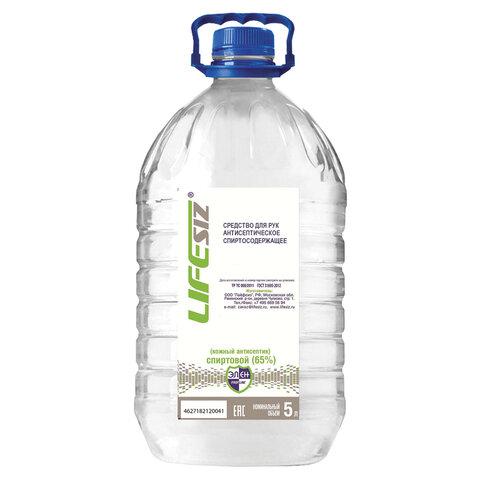 Антисептик для рук спиртосодержащий (65%) 5л ЭЛЕН, жидкость