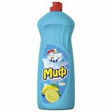 """Средство для мытья посуды 1 л МИФ """"Лимонная свежесть"""""""