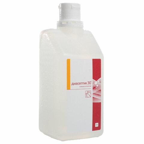 Антисептик для рук спиртосодержащий (30%) 1л ДИАСЕПТИК-30, дезинфицирующий, жидкость, 372