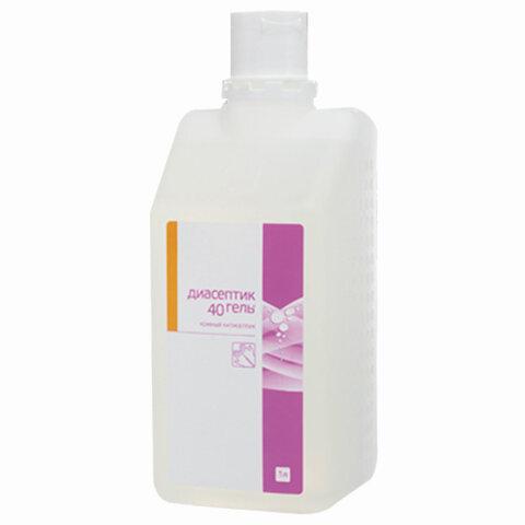 Антисептик-гель для рук спиртосодержащий (40%) 1л ДИАСЕПТИК-40, дезинфицирующий, 577