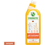 "Средство для уборки туалета антибактериальное 700 мл SYNERGETIC ""Грейпфрут и апельсин"", 104070"