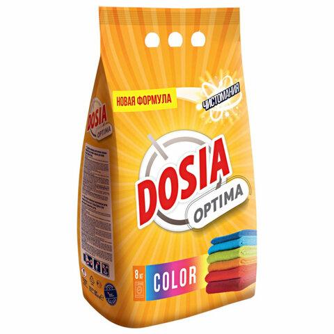 Стиральный порошок автомат 8 кг DOSIA (Дося) Optima Color, для цветного белья, 3116133