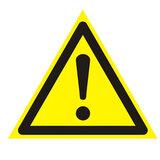 """Знак предупреждающий """"Внимание. Опасность (прочие опасности)"""", треугольник, 200х200х200 мм, 610009/W 09"""