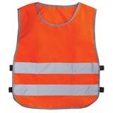 Жилет детский светоотражающий, размер 26-30, рост 92-116 см, 2-6 лет, оранжевый