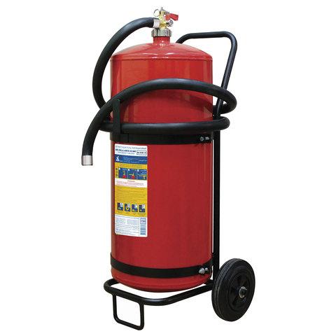 Огнетушитель порошковый ОП-50, передвижной, АВСЕ (твердый, жидкий, газообразные вещества, электро установки), МИГ, 111-55