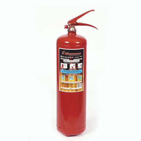 Огнетушитель порошковый ОП-3, АВСЕ (твердые, жидкие, газообразные вещества, электрические установки) закачной, ЗПУ Алюм, ЯРПОЖ, УТ-00001640