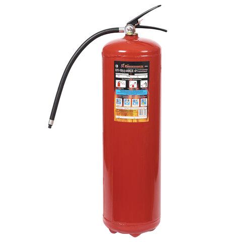 Огнетушитель порошковый ОП-10, АВСЕ (твердые, жидкие, газообразные вещества, электрические установки) закачной, ЗПУ Алюм, ЯРПОЖ, УТ-00001617