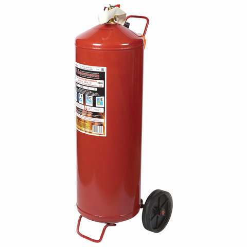 Огнетушитель порошковый ОП-50, АВСЕ (твердые, жидкие, газообразные вещества, электрические установки) закачной, ЗПУ Алюм ЯРПОЖ, УТ-00002035