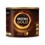"""Кофе растворимый NESCAFE """"Gold"""", сублимированный, 500 г, жестяная банка, 12140765"""