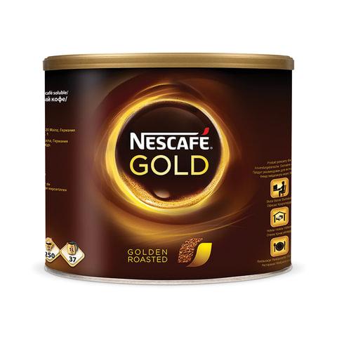 """Кофе растворимый NESCAFE """"Gold"""", сублимированный, 500г жестяная банка"""