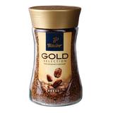 """Кофе растворимый TCHIBO """"Gold"""", гранулированный, 190 г, стеклянная банка, -"""