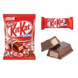 Шоколадные батончики KIT KAT с молочным шоколадом и хрустящей вафлей, 202 г, 12145058