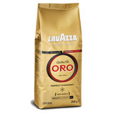 "Кофе в зернах LAVAZZA ""Qualita Oro"", арабика 100%, 250 г, вакуумная упаковка, 2051"