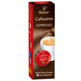 Капсулы для кофемашин TCHIBO Cafissimo Espresso Mailander Elegant, натуральный кофе, 10 шт. х 7 г, EPCFTCEM0007K