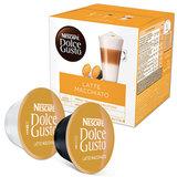 Кофе в капсулах NESCAFE Latte Macchiato для кофемашин Dolce Gusto, 8 шт. х 6,5 г, молочные капсулы 8 шт. х 17,8 г, 5219838