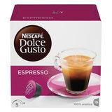 """Кофе в капсулах NESCAFE """"Espresso"""" для кофемашин Dolce Gusto, 16 шт. х 6 г, 5219839"""